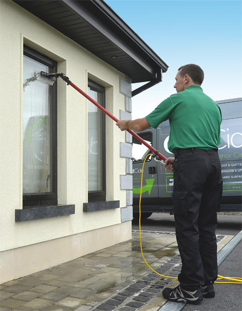 Pure water window cleaning in county galway and county - Exterior window cleaning services ...